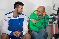 on psychophysical tests at Faculty of Sports before tomorrow's handball match between the national teams of Slovenia and Croatia, on October 17, 2017 in Faculty of Sports, Ljubljana, Slovenia. Photo by Urban Urbanc / Sportida