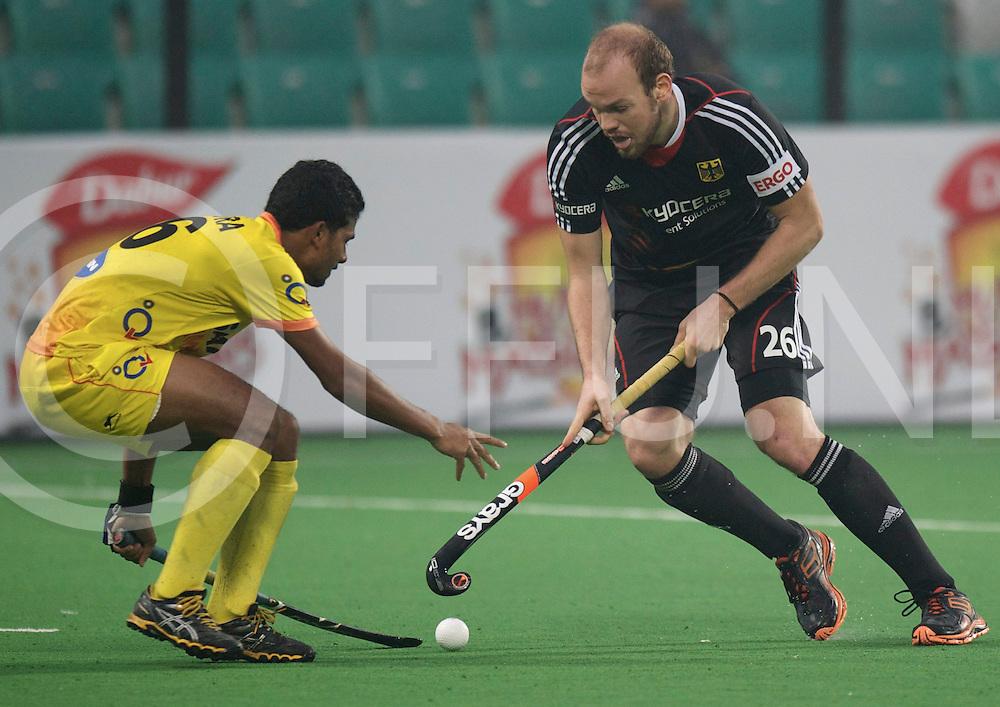 NEW DELHI - Hock World League  Final Men<br /> 18 GER v IND (5 / 8)<br /> India wins 4-5<br /> foto: hilo Stralkowski.<br /> FFU PRESS AGENCY COPYRIGHT FRANK UIJLENBROEK