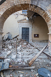 Earthquake in Valnerina. In the picture: Villa S. Antonio, a village of Visso - Province of Macerata NO WEB *** *** *** NO DAILY