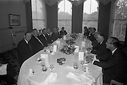 12/06/1963<br /> 06/12/1963<br /> 12 June 1963<br /> F.A. Wyatt and Co. Ltd./Peek Frean reception at the Shelbourne Hotel, Dublin.  A general view of the attendees.