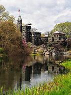 Belvedere Castle and Turtle Pond in Central Park.