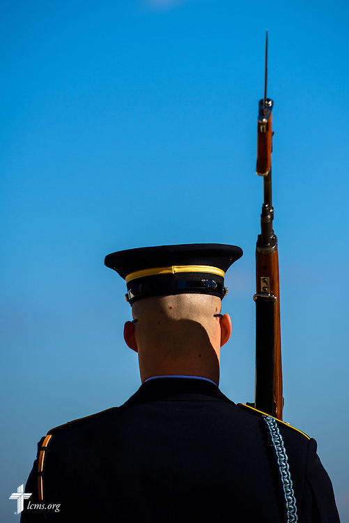 The Tomb of the Unknown Soldier at Arlington National Cemetery on Thursday, Jan. 26, 2017, in Arlington, Va. LCMS Communications/Erik M. Lunsford