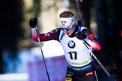 Johannes Thingnes Boe (NOR) during the Men 20 km Individual Competition at day 1 of IBU Biathlon World Cup 2019/20 Pokljuka, on January 23, 2020 in Rudno polje, Pokljuka, Pokljuka, Slovenia. Photo by Peter Podobnik / Sportida