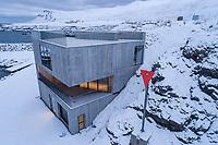 Visitor Center at Borgarfjörður Eystri, East fiords of Iceland.