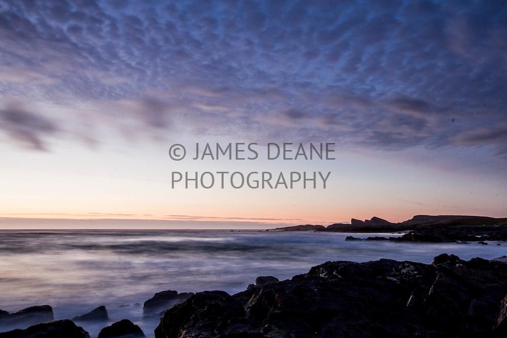 A Spring evening at Saligo Bay on the West coast of Islay