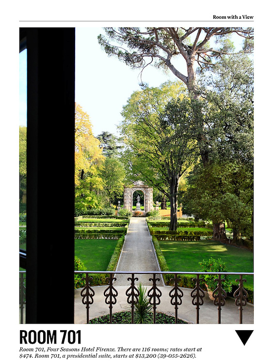 Four Seasons Florence Conde Nast Traveler Feb 2014, Best Hotels in the world, Florence