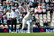 Mohammed Shami of India bowling during the first day of the 4th SpecSavers International Test Match 2018 match between England and India at the Ageas Bowl, Southampton, United Kingdom on 30 August 2018.