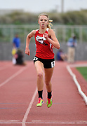 May 19, 2018; Torrance, CA, USA; Mia Barnett of Village Christian wins the Division IV girls 1,600m in 4:46.77 during the CIF Southern Section Finals  at El Camino College.