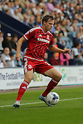 Tomas Kalas during the Sky Bet Championship match between Preston North End and Middlesbrough at Deepdale, Preston, England on 9 August 2015. Photo by Simon Davies.