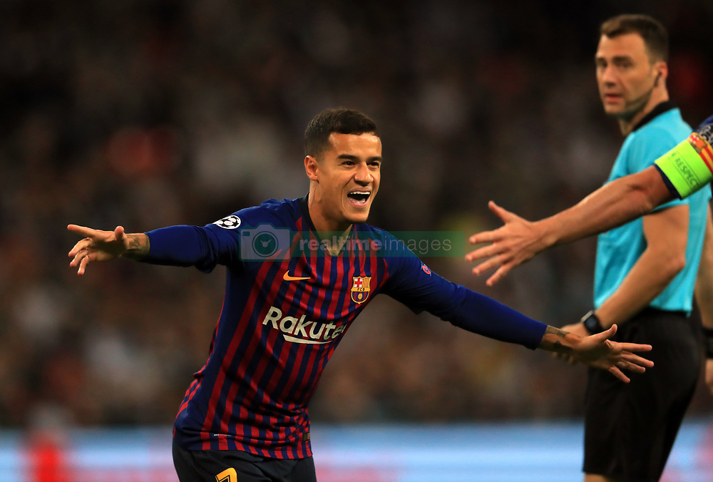 صور مباراة : توتنهام - برشلونة 2-4 ( 03-10-2018 )  38927144