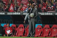 20111029: LISBON, PORTUGAL - SL Benfica vs Olhanense: Portuguese League 2011/2012. <br /> In photo: Olhanense's coach Dauto Faquira.<br /> PHOTO: Carlos Rodrigues/CITYFILES