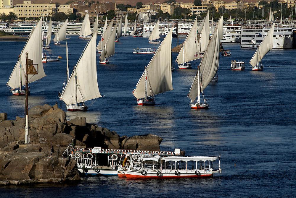 Egypt, Aswan. December/26/2008.