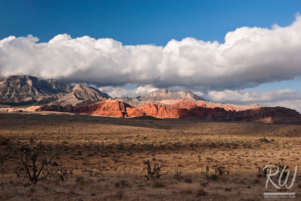 Red Rock Canyon Scenic Landscape, Nevada