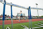 during the division I high school track and field state championships at Burlington High School on Saturday June 3, 2017 in Burlington. (BRIAN JENKINS/for the FREE PRESS)