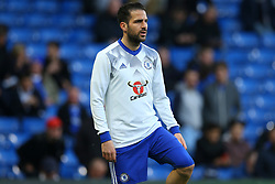 Cesc Fabregas of Chelsea during warm ups - Mandatory by-line: Jason Brown/JMP - 08/05/17 - FOOTBALL - Stamford Bridge - London, England - Chelsea v Middlesbrough - Premier League