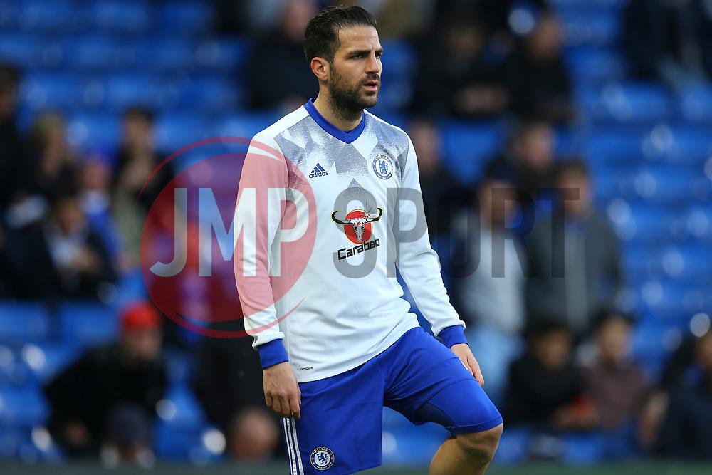 Cesc Fabregas of Chelsea during warm ups - Mandatory by-line: Jason Brown/JMP - 08/05/17 - FOOTBALL - Stamford Bridge - London, England - Chelsea v Middlesbrough - Premier League