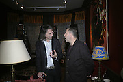 Ivor Braka and Vicente Todoli, Party for Jean Pigozzi hosted by Ivor Braka to thank him for the loan exhibition 'Popular Painting' from Kinshasa'  at Tate Modern. Cadogan sq. London. 29 May 2007.  -DO NOT ARCHIVE-© Copyright Photograph by Dafydd Jones. 248 Clapham Rd. London SW9 0PZ. Tel 0207 820 0771. www.dafjones.com.