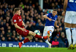 LIVERPOOL, ENGLAND - Sunday, March 3, 2019: Everton's substitute Richarlison de Andrade during the FA Premier League match between Everton FC and Liverpool FC, the 233rd Merseyside Derby, at Goodison Park. (Pic by Laura Malkin/Propaganda)