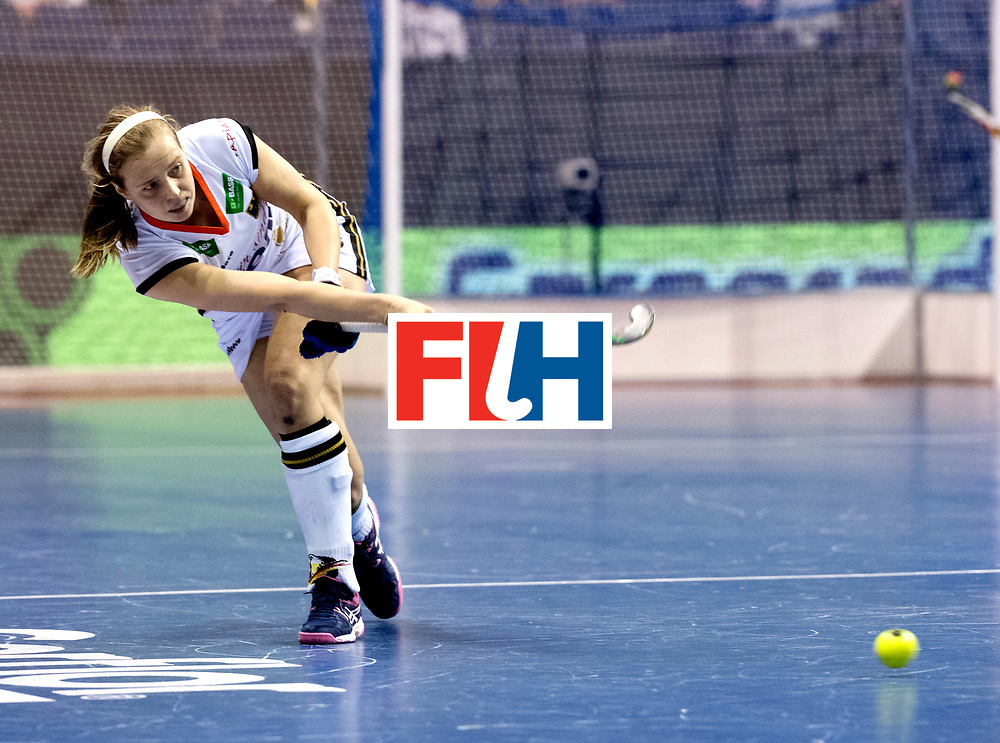 BERLIN - Indoor Hockey World Cup<br /> Women: Germany - Russia<br /> foto: STEINDOR Luisa.<br /> WORLDSPORTPICS COPYRIGHT FRANK UIJLENBROEK
