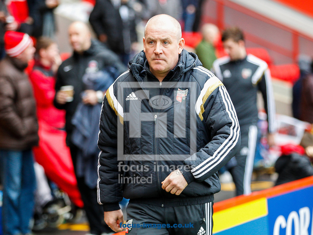 Brentford Manager Mark Warburton before the Sky Bet Championship match between Charlton Athletic and Brentford at The Valley, London<br /> Picture by Mark D Fuller/Focus Images Ltd +44 7774 216216<br /> 14/02/2015