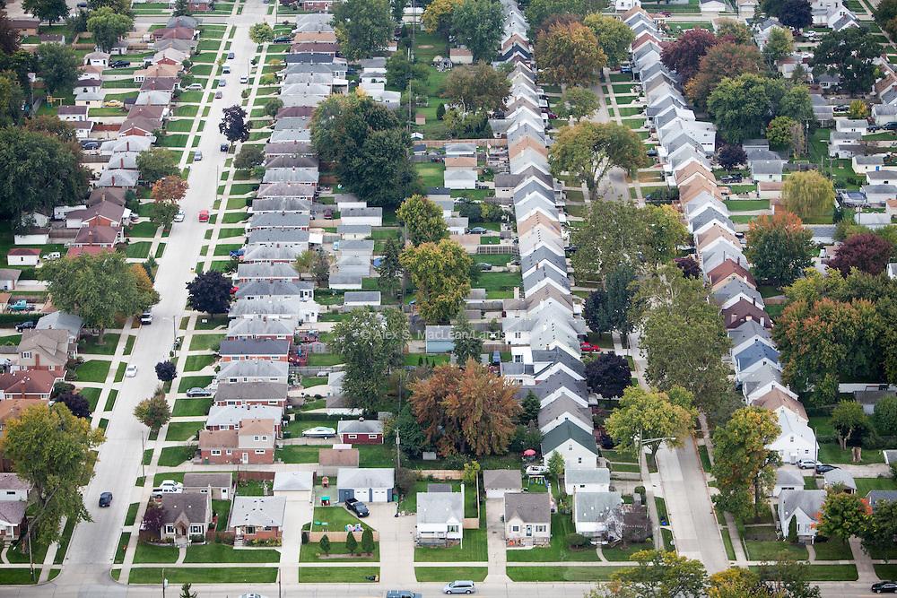Older suburban tract housing