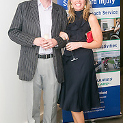 No Repro Fee<br /> 02/04/2015<br /> Pictured at the Spinal Injuries Ireland Lunch at the Marker Hotel, Dublin were<br /> Harry Quinlan (left) and Aoife Sexton.<br /> Pic: Alan Rowlette
