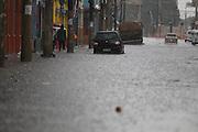 SAO PAULO, SP, 25/12/2013, ENCHENTE. Alagamento na Rua Cantareira, no bairro do Bras, em decorrencia das fortes chuvas da tarde dessa quarta-feira (25). LUIZ GUARNIERI/BRAZIL PHOTO PRESS.