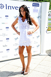 TAMARA ECCLESTONE at the Investec Ladies Day at Epsom Racecourse, Surrey on 4th June 2010.