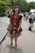 KIRSTIE ALLSOPP, Press view of the 2016 RHS  Chelsea Flower Show,  London.