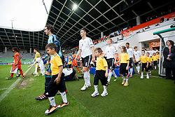 Oliver Schnitzler of Germany, Niklas Suele of Germany, Nico Brandenburger of Germany during the UEFA European Under-17 Championship Final match between Germany and Netherlands on May 16, 2012 in SRC Stozice, Ljubljana, Slovenia. Netherlands defeated Germany after penalty shots and became European Under-17 Champion 2012. (Photo by Vid Ponikvar / Sportida.com)