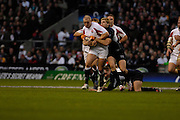 Twickenham, GREAT BRITAIN, Mike TINDALL. holds onto the ball during the  England vs Scotland, Calcutta Cup Rugby match played at the  RFU Twickenham Stadium on Sat 03.02.2007  [Photo, Peter Spurrier/Intersport-images]...