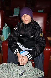 Singer IAN BROWN at the launch of 'Grand Classics:Films with Style' series in London hosted by Vivienne Westwood at The Electric Cinema, Portobello Road, London W11 on 20th March 2006.<br /><br />NON EXCLUSIVE - WORLD RIGHTS
