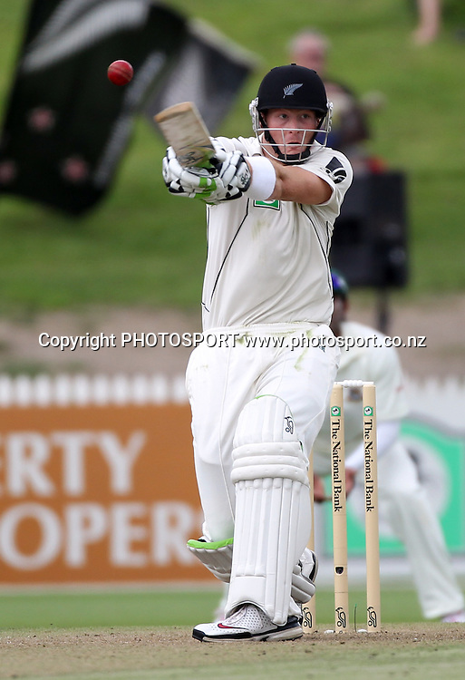 New Zealand's Martin Guptill batting.<br />
