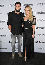 Maksim Chmerkovskiy and Peta Murgatroyd bei der 2016 Entertainment Weekly Pre Emmy Party in Los Angeles / 160916<br /> <br /> ***2016 Entertainment Weekly Pre-Emmy Party in Los Angeles, California on September 16, 2016***