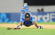 Auckland-Cricket, New Zealand v India, 3rd one day, January 25