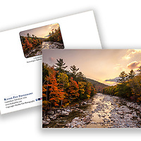 E Branch of the Pemigewasset River along the Kancamagus HIghway White Mountains New Hampshire <br />