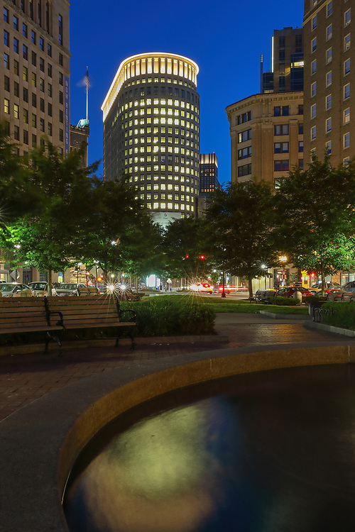 Boston skyline photography from New England photographer Juergen Roth showing the Boston Statler Park and parts of its fountain with the Boston Park Plaza to the right. The left features a rental apartment complex. I noticed the fountain and phot opportunity when I picked up my wife from a gala at the Boston Plaza Hotel. The fountain inspired me to come back at twilight and create this long-exposure photography image of the Boston cityscape. <br /> <br /> Boston skyline photos of are available as museum quality photo prints, canvas prints, wood prints, acrylic prints or metal prints. Fine art prints may be framed and matted to the individual liking and decorating needs:<br /> <br /> https://juergen-roth.pixels.com/featured/boston-statler-park-juergen-roth.html<br /> <br /> All digital Boston skyline photography images are available for photo image licensing at www.RothGalleries.com. Please contact me direct with any questions or request.<br /> <br /> Good light and happy photo making!<br /> <br /> My best,<br /> <br /> Juergen<br /> Prints: http://www.rothgalleries.com<br /> Photo Blog: http://whereintheworldisjuergen.blogspot.com<br /> Instagram: https://www.instagram.com/rothgalleries<br /> Twitter: https://twitter.com/naturefineart<br /> Facebook: https://www.facebook.com/naturefineart