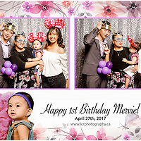 Mari Marviel 1st Birthday