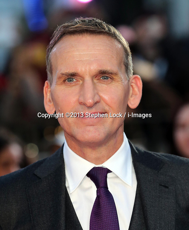 Christopher Eccleston arriving for the premiere of Thor: The Dark World, in London, Tuesday, 22nd October 2013. Picture by Stephen Lock / i-Images