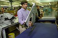 Knitwear factory worker....