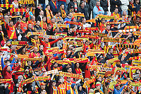 Supporters Lens - 26.04.2015 - Lens / Monaco - 34eme journee de Ligue 1<br /> Photo : Nolwenn Le Gouic / Icon Sport