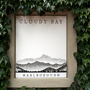 Cloudy Bay Vineyard Jackson Road., Marlborough, New Zealand..The winery and vineyards are situated in the Wairau Valley in Marlborough at the northern end of New Zealand's South Island. This unique and cool wine region enjoys a maritime climate with the longest hours of sunshine of any place in New Zealand. Wairau Valley, Marlborough, New Zealand. 9th February 2011. Photo Tim Clayton.