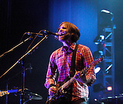 Death Cab For Cutie <br /> performing live at Brixton Academy, London, Great Britain <br /> 7th July 2011 <br /> <br /> Death Cab for Cutie is an American band formed in Bellingham, Washington in 1997. The band consists of Ben Gibbard (vocals, guitar, piano), Chris Walla (guitar, production, keyboards), Nick Harmer (bass) and Jason McGerr (drums). Gibbard took the band name from the title of the song written by Neil Innes and Vivian Stanshall and performed by their group, the Bonzo Dog Doo-Dah Band, in The Beatles' 1967 film, Magical Mystery Tour. The song's name was in turn taken from a pulp fiction crime magazine.<br /> <br /> Ben Gibbard