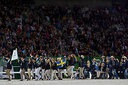 Opening Ceremony, Team SWE <br /> Alltech FEI World Equestrian Games™ 2014 - Normandy, France.<br /> © Hippo Foto Team - Leanjo de Koster<br /> 25/06/14