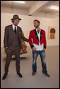 DANNI DAVISCO; LIAM HAYHOW,   Yoshitomo Nara at Dairy Art Centre, Wakefield St. Russell Sq. London.  Thursday 2 October 2014.