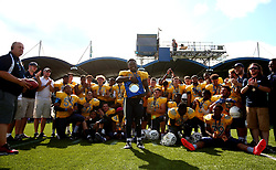 Winners of the Under 19s BAFA Britbowl National League Finals 2017 London Blitz - Mandatory by-line: Robbie Stephenson/JMP - 26/08/2017 - AMERICAN FOOTBALL - Sixways Stadium - Worcester, England - East Kilbride Pirates v London Blitz - BAFA Britbowl National League Finals 2017