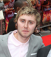 James Buckley The Inbetweeners Movie world premiere, Vue Cinema, Leicester Square, London, UK, 16 August 2011:  Contact: Rich@Piqtured.com +44(0)7941 079620 (Picture by Richard Goldschmidt)