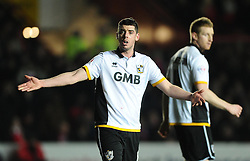 Port Vale's Richard Duffy  - Photo mandatory by-line: Joe Meredith/JMP - Mobile: 07966 386802 - 10/02/2015 - SPORT - Football - Bristol - Ashton Gate - Bristol City v Port Vale - Sky Bet League One