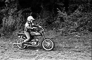 Unknown youth on Bike, High Wycombe, UK, 1980s.