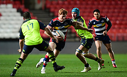 Jack Tovey of Bristol Rugby makes a break - Mandatory by-line: Alex Davidson/JMP - 08/12/2017 - RUGBY - Ashton Gate Stadium - Bristol, England - Bristol Rugby v Leinster 'A' - B&I Cup